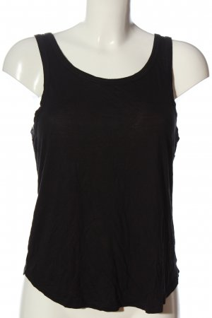 H&M Divided Basic Top schwarz Casual-Look