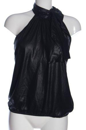 H&M Divided Blouse avec noeuds noir élégant