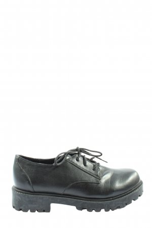 H&M Divided Lace Shoes black casual look