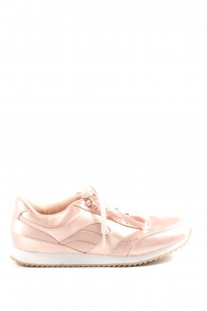 H&M Divided Lace-Up Sneaker nude casual look