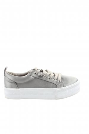 H&M Divided Schnürsneaker hellgrau Casual-Look