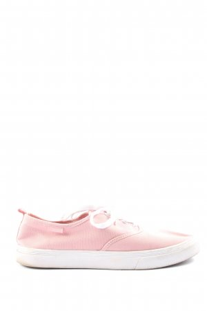 H&M Divided Schnürsneaker pink Casual-Look