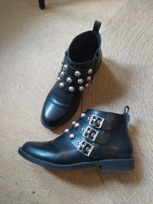 H&M Divided Schuhe Stiefel Boots Booties Ankle Stiefeletten