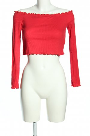 H&M Divided schulterfreies Top pink Casual-Look