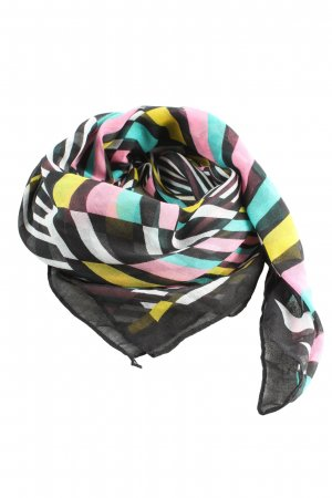H&M Divided Shoulder Scarf striped pattern casual look