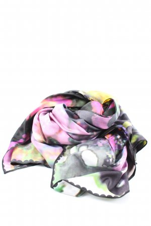 H&M Divided Silk Scarf abstract pattern casual look