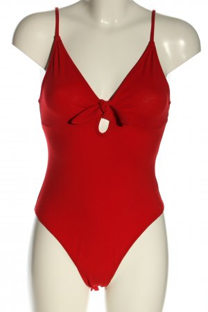 H&M Divided Shirt Body red casual look