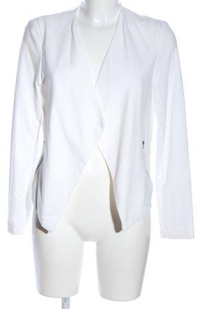 H&M Divided Veste chemise blanc style d'affaires
