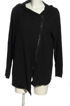 H&M Divided Shirt Jacket black casual look