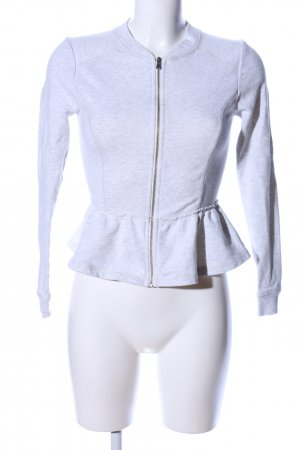 H&M Divided Shirt Jacket light grey flecked casual look