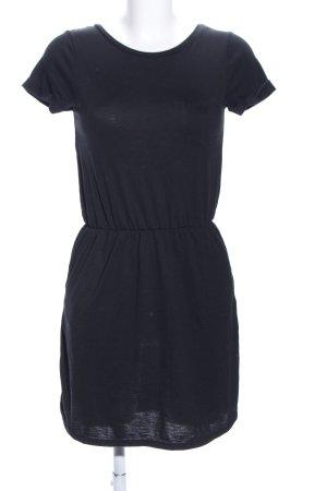 H&M Divided Vestido estilo camisa negro look casual