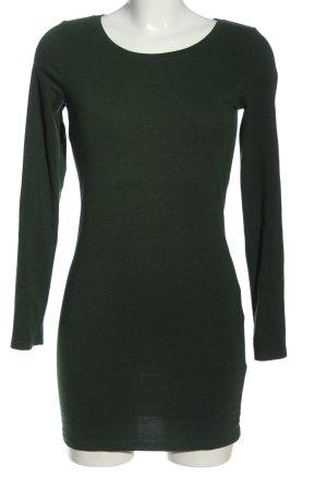 H&M Divided Longshirt grün Casual-Look