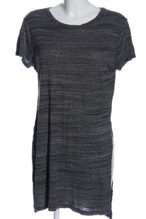 H&M Divided Shirttunika hellgrau Allover-Druck Casual-Look