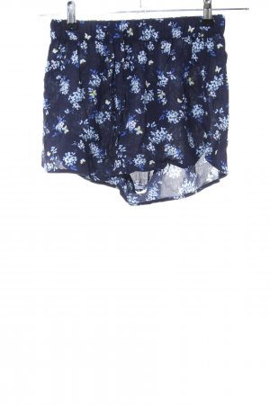 H&M Divided Shorts blau Allover-Druck Casual-Look