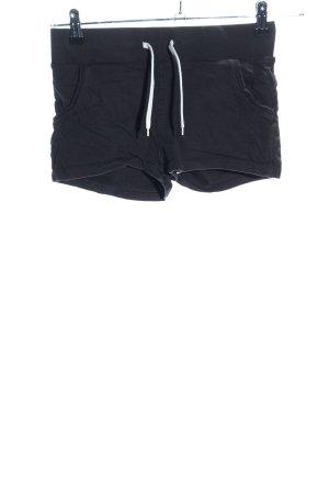H&M Divided Spodenki czarny W stylu casual