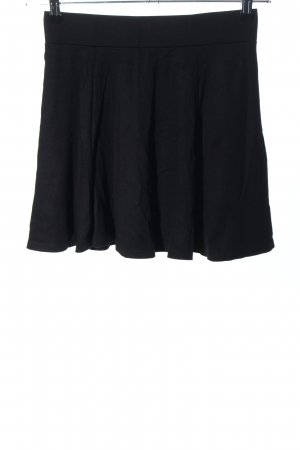 H&M Divided Skater Skirt black casual look