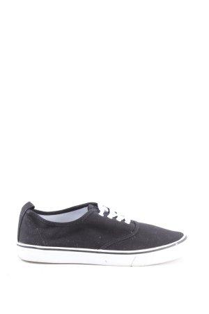 H&M Divided Chaussure skate noir style décontracté