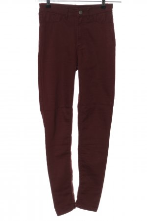 H&M Divided Skinny Jeans braun Casual-Look