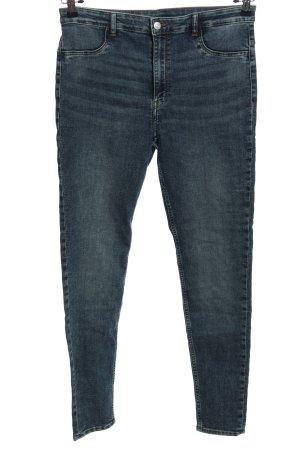 H&M Divided Skinny Jeans blau Casual-Look