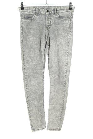 H&M Divided Skinny Jeans hellgrau Casual-Look