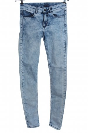 H&M Divided Slim Jeans blue casual look