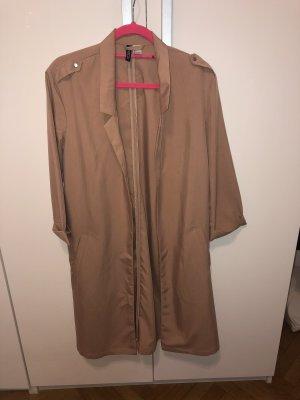 H&M Divided Sommer-Trenchcoat, nudefarben in S