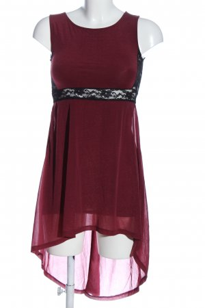 H&M Divided Sommerkleid rot Elegant