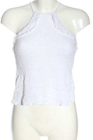 H&M Divided Top de tirantes finos blanco look casual