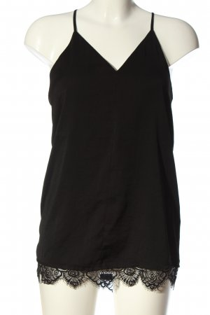H&M Divided Top de tirantes finos negro look casual