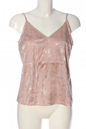 H&M Divided Spaghettiträger Top pink Allover-Druck Casual-Look