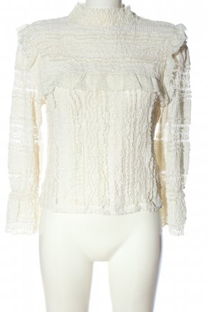 H&M Divided Lace Blouse white casual look