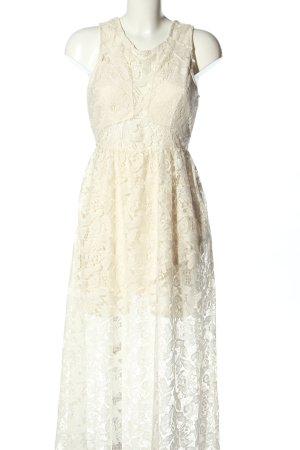 H&M Divided Lace Dress cream elegant