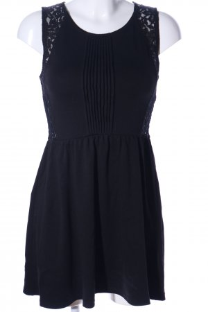 H&M Divided Spitzenkleid schwarz Elegant