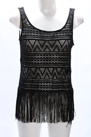 H&M Divided Lace Top black casual look