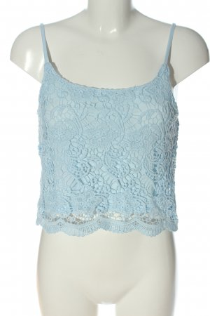 H&M Divided Lace Top blue casual look