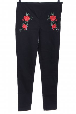 H&M Divided Steghose Blumenmuster Casual-Look