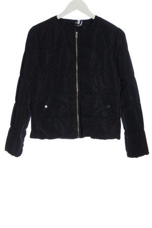H&M Divided Veste matelassée noir motif de courtepointe style décontracté