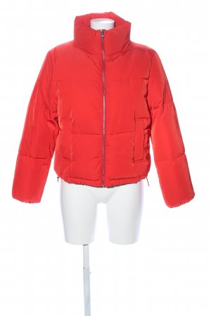 H&M Divided Quilted Jacket red casual look