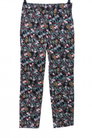 H&M Divided Stoffhose Blumenmuster Casual-Look