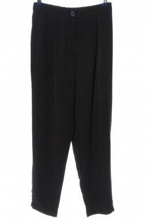 H&M Divided Stoffhose schwarz Business-Look