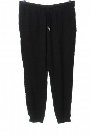 H&M Divided Stoffhose schwarz Casual-Look