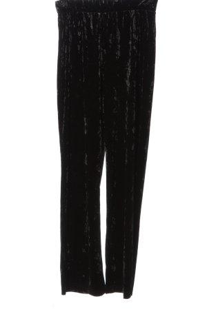 H&M Divided Stoffhose schwarz Elegant