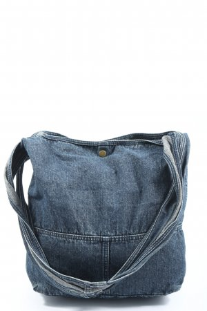 H&M Divided Canvas Bag blue flecked casual look