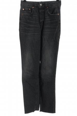H&M Divided Jeansy z prostymi nogawkami jasnoszary W stylu casual