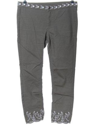 H&M Divided Jeansy z prostymi nogawkami jasnoszary-biały W stylu casual