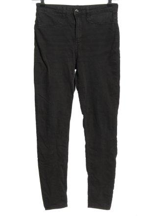 H&M Divided Jeansy z prostymi nogawkami czarny W stylu casual