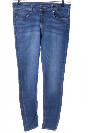 H&M Divided Stretch Jeans blau Casual-Look