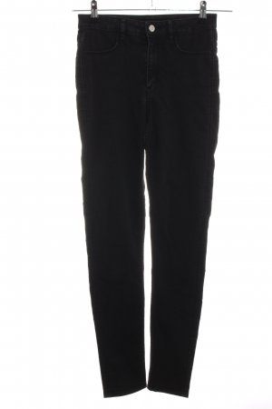 H&M Divided Stretch Jeans schwarz Business-Look
