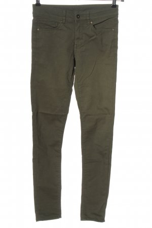 H&M Divided Stretch Jeans khaki Casual-Look