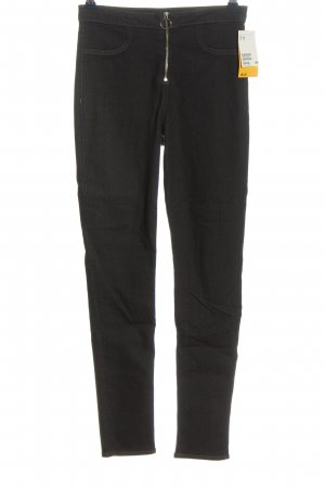 H&M Divided Stretch Jeans hellgrau Casual-Look